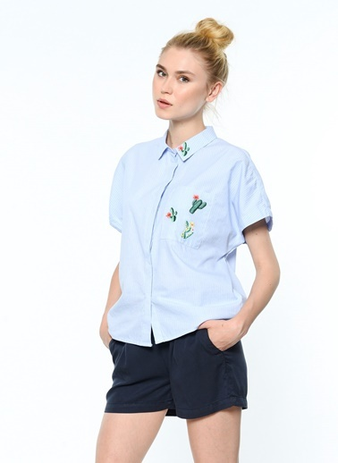 Kısa Kollu Gömlek-Only